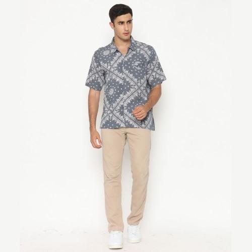 Alpha Batik Shirt Cool Grey