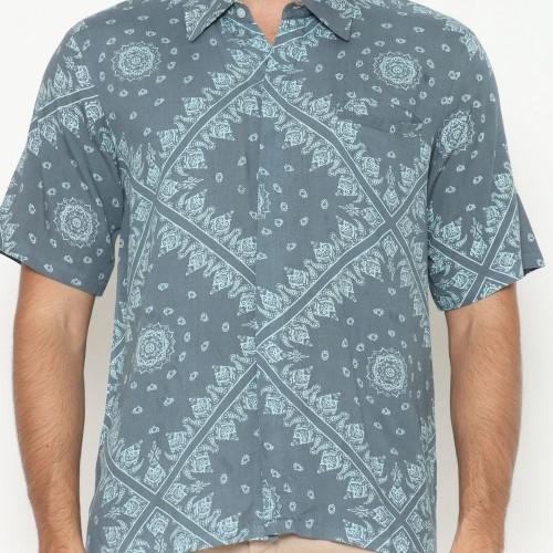 Alpha Batik Shirt Soft Blue