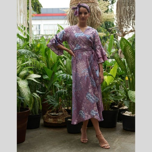 Dress Kimono Terompet 09101